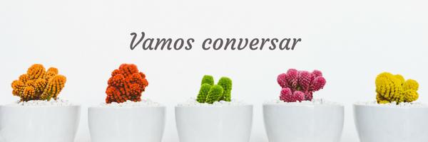 Vamos conversar vasos com flores Reconstruindo meu Ser